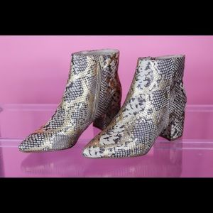 Gold Animal Boots